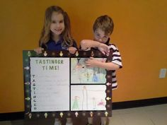 Kailyn and nicholas at work!