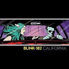 Blink 182 - California: Deluxe Edition 180g Vinyl 2LP + Download May 19 2017 Pre-order