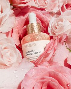 Roses are red. Violets are blue. Tell us which Biossance products complete you. 👇💚 Vitamin C Oil, 65th Birthday, Rose Oil, Dull Skin, Even Skin Tone, Eclairs, Red Roses, Vitamins, Cosmetics