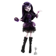 Monster High Fights Camera Action Doll [Hauntlywood Elissabat]
