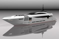 42.8M SuperYacht KETOS By Enrico Gobbi From Rossi Navi Shipyard