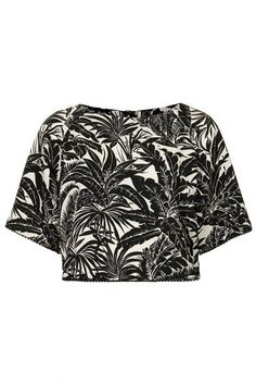 topshop-black-white-tropical-tee-xln