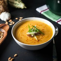 8 Light & Lovely Fall Soups to Begin Your Thanksgiving Meal