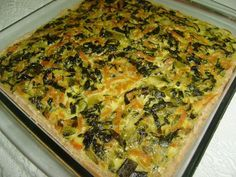 A Torta Cremosa de Escarola é uma opção deliciosa e saudável para o lanche. Experimente você também! Veja Também: Torta Italiana de Liquidificador Veja Tam