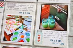 My Week 14 Project Life uses the Gossamer Blue Life Pages Kit for June. Project Life, Gossamer Blue, Life Page, Mish Mash, Blue Life, Life Inspiration, Life Is Good, Jar, Scrapbook Layouts