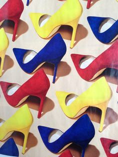 Pop Art inspired shoe editorial for New York magazine- photography by Bobby Doherty- Manolo blahnik Shoes Editorial, Pop Art Fashion, Manolo Blahnik Heels, Shoe Art, Art Shoes, Arte Pop, Beautiful Shoes, Primary Colors, Me Too Shoes