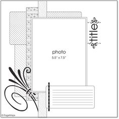 Page Maps 33 - Sketch 1 - Scrapbook.com