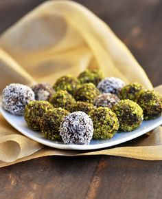 Coffee Truffles...vegan gluten free sugar free