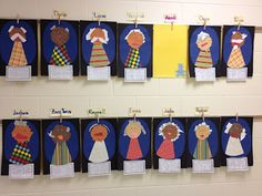"""I love Deanna Jump's 100 year old art projects but even more than that I love how Kindergator took it to a new level.  Instead of the regular """"When I am 100 years old..."""" writing, she changed it up to make a bucket list!  How great is that?!  #Pre-K, #Kindergarten, #First Grade   http://www.teacherspayteachers.com/Product/100th-Day-Math-and-Literacy-Fun-Mini-Unit"""