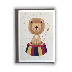 Lion Card Shipping Information, Bee Design, See Images, Lion, Initials, Envelope, Teddy Bear, Messages, Texture
