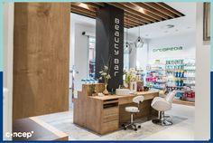 Farmacia TenorFleta - Zaragoza (Spain) #Concep· #Interiordesing #design #style #interior #deco #farmacia #pharmacy