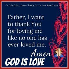 .God is Love!