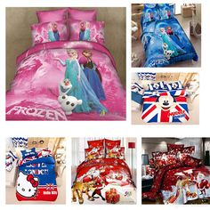 Wholesale Pink Bed Set Children Cartoon Bedding Sets Elisa And Anna Designs,Very Hot Sale Single /Queen /King/Twin Size Aa From Keluo008, $49.35 | Dhgate.Com