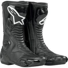 New Alpinestars Stella/Womens S-MX-5/SMX5 Black Boots! 39/US-8 #ALPINESTARS #SPORTRIDINGBOOTS