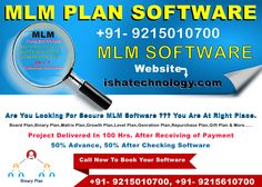 iSHA Technology Solution Pvt. Ltd. is a best MLM Software company in Delhi. Which Provide Best MLM Software in reasonable prices,  Like Single leg Binary MLM Software, Matrix MLM Software, RD-FD Software, Banking Software, Network Marketing Software, Level MLM Software, Etc. Banking Software, Marketing Software, Mlm Plan, Multi Level Marketing, Business Planning, India, Technology, How To Plan, Tech