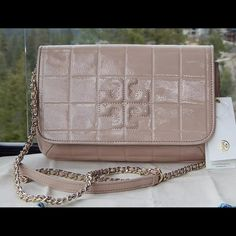 d80c1afcd7 ... Valentino Bags Totes. Tory Burch Quilted Marion Brand new authentic  Tory Burch Marion patent leather purse clutch with