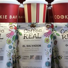Coffee Real available at the Cookie Bar