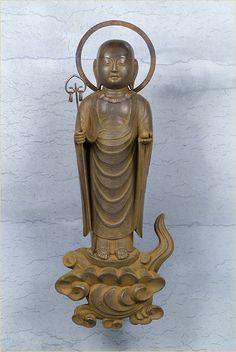 Roku jizo statue, property of Eko-in, Tokyo, Japan