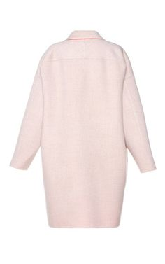 Two Tone Relaxed Coat by AGNONA for Preorder on Moda Operandi