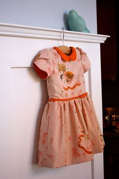 Ruby's 2nd Birthday Dress by Yes'm Creative, Oliver + S Fairy Tale Dress pattern