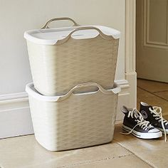 Stackable Laundry Baskets Alluring Stackable Laundry Baskets  Stackable Laundry Baskets Laundry And Inspiration