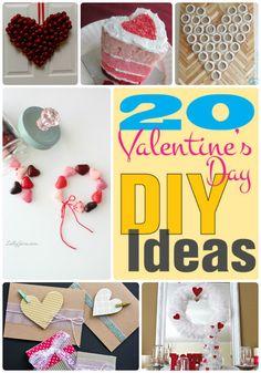 Great Ideas — 20 Valentine's Day DIY Ideas!! Check out these awesome 20 Valentine's Day DIY ideas!!
