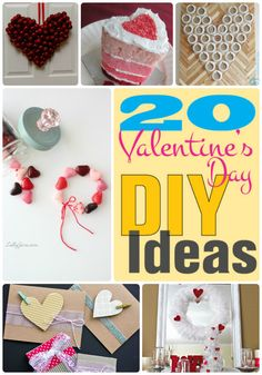 Great Ideas — 20 Valentine's Day DIY Ideas!! Check out these awesome 20 Valentine's Day DIY ideas!!
