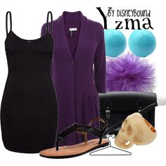 Yzma, created by lalakay on Polyvore disney