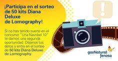 Si no acertasteis la película de #UnaNavidad10 ahora podéis entrar en el sorteo de 50 kits Diana Deluxe de Lomography. ¡Participad aquí!