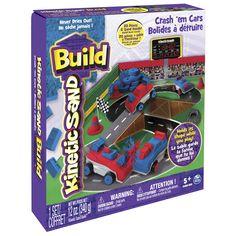 Kinetic Sand Build - Crash ´em Cars
