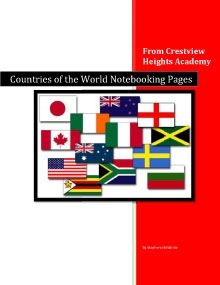 Countries of the World Notebooking Pages - Crestview Heights Academy | History and Geography | Notebooking | CurrClick