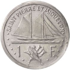 SAINT PIERRE & MIQUELON, Franc, 1948, Piedfort, PCGS, SP64, Aluminum, KM:PE1