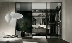 Rimadesio Walk-in wardrobe