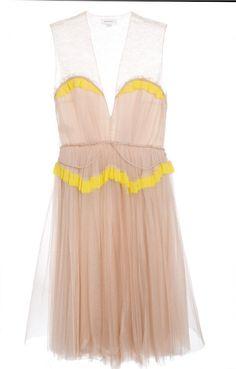 delpozo tulle dress
