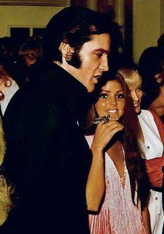 Elvis Presley and Priscila