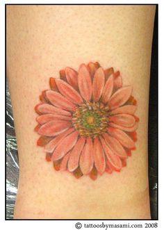 gerber+daisy+tattoos | Gerber-daisy-tattoo-08