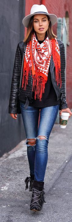 Pop Of Red Inspiration Outfit