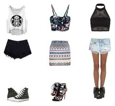"""""""My summer outfits!"""" by caswellholly on Polyvore"""