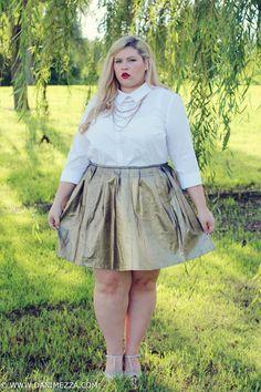 Aussie Curves Danimezza Blogger Outfit Fashion Plus Size Blonde RUNWAY