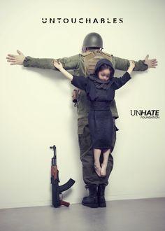 Fondation Unhate - Benetton - Untouchables 2