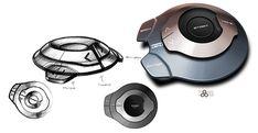 Tata Megapixel Concept - Control Design Sketch - Car Body Design