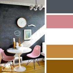 Цветовая палитра для интерьера