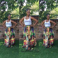 Maxi Silk skirt #SunshowerLove