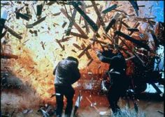 """Butch Cassidy and the Sundance Kid (1969) -- """"Think ya used enough dynamite there, Butch?"""""""