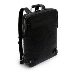 Ostrich Backpack Mens Business Bag for Laptop HARIBON 444 (1)