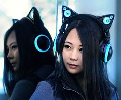 Cat Ear Headphones by Axent | CoolShitiBuy.com