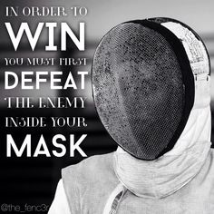Hamlet had to defeat himself in order to win the duel. Fencing Foil, Fence Quotes, Fencing Sport, Cool Swords, Sword Fight, Magazine Images, Sport Quotes, Motivational Words, Sports Humor