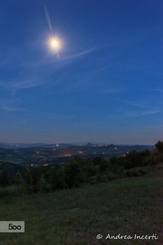 Blue hour hills by Andrea Incerti on 500px