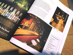 It's official!! Flows projects first publication in a leading hospitality magazine, VENUEZ. BIJOU, it's always cocktail time! #Bar #Design #Interior #Graphics #Logo #Branding #Hospitality #FlowsProjects #BIJOU #Venuez