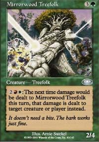 Mirrorwood Treefolk from Planeshift at TCGplayer.com as low as $0.04